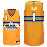 Camiseta Dia del Padre Denver Nuggets DAD #1 Amarillo