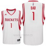 Camiseta Dia del Padre Houston Rockets DAD #1 Blanco