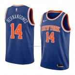 Camiseta New York Knicks Willy Hernangomez #14 Icon 2018 Azul