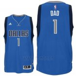 Camiseta Dia del Padre Dallas Mavericks DAD #1 Azul