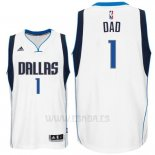 Camiseta Dia del Padre Dallas Mavericks DAD #1 Blanco