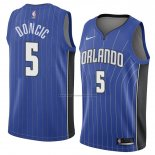 Camiseta Orlando Magic Mohamed Bamba (2) #5 Icon 2018 Azul