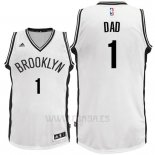 Camiseta Dia del Padre Brooklyn Nets DAD #1 Blanco