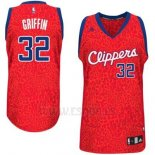 Camiseta Leopard Light Loco Los Angeles Clippers Blake Griffin #32 Rojo