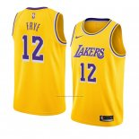 Camiseta Los Angeles Lakers Channing Frye #12 Icon 2018-19 Amarillo