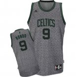 Camiseta Moda Estatica Boston Celtics Rajon Rondo #9 Gris