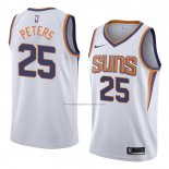Camiseta Phoenix Suns Alec Peters #25 Association 2018 Blanco