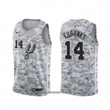 Camiseta San Antonio Spurs Drew Eubanks #14 Earned Camuflaje