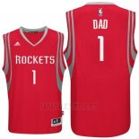 Camiseta Dia del Padre Houston Rockets DAD #1 Rojo