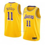Camiseta Los Angeles Lakers Michael Beasley #11 Icon 2018-19 Amarillo