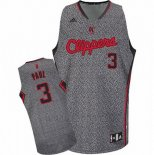 Camiseta Moda Estatica Los Angeles Clippers Chris Paul #3 Gris