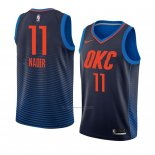 Camiseta Oklahoma City Thunder Abdel Nader #11 Statement 2018 Azul