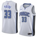 Camiseta Orlando Magic Adreian Payne #33 Association 2018 Blanco