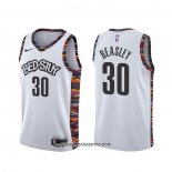 Camiseta Brooklyn Nets Michael Beasley #30 Ciudad 2020 Blanco