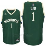 Camiseta Dia del Padre Milwaukee Bucks DAD #1 Verde
