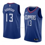 Camiseta Los Angeles Clippers Jerome Robinson #13 Icon 2017-18 Azul