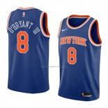 Camiseta New York Knicks Johnny O'bryant Iii #8 Icon 2018 Azul