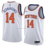 Camiseta New York Knicks Willy Hernangomez #14 Statement 2018 Blanco