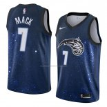 Camiseta Orlando Magic Shelvin Mack #7 Ciudad 2018 Azul