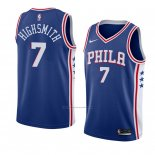 Camiseta Philadelphia 76ers Haywood Highsmith #7 Icon 2018 Azul