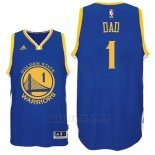 Camiseta Dia del Padre Golden State Warriors DAD #1 Azul