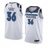 Camiseta Minnesota Timberwolves Dario Saric #36 Association 2018 Blanco