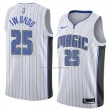 Camiseta Orlando Magic Wes Iwundu #25 Association 2018 Blanco