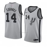 Camiseta San Antonio Spurs Drew Eubanks #14 Statement 2018 Gris