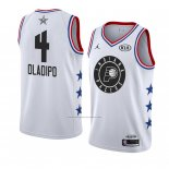 Camiseta All Star 2019 Indiana Pacers Victor Oladipo #4 Blanco