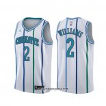 Camiseta Charlotte Hornets Marvin Williams #2 Classic Blanco