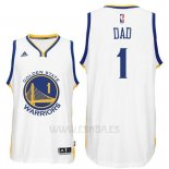 Camiseta Dia del Padre Golden State Warriors DAD #1 Blanco