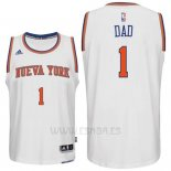Camiseta Dia del Padre New York Knicks DAD #1 Blanco