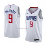 Camiseta Los Angeles Clippers C.j. Williams #9 Association 2018 Blanco