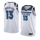 Camiseta Minnesota Timberwolves Darius Johnson-Odom #13 Association 2018 Blanco