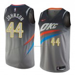 Camiseta Oklahoma City Thunder Dakari Johnson #44 Ciudad 2018 Gris