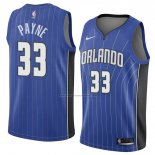 Camiseta Orlando Magic Adreian Payne #33 Icon 2018 Azul