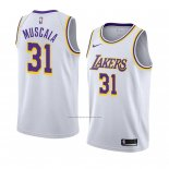 Camiseta Los Angeles Lakers Mike Muscala #31 Association 2018-19 Blanco