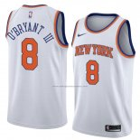 Camiseta New York Knicks Johnny O'bryant Iii #8 Statement 2018 Blanco