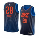 Camiseta Oklahoma City Thunder Abdel Nader #28 Statement 2017-18 Azul