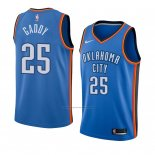 Camiseta Oklahoma City Thunder Abdul Gaddy #25 Icon 2018 Azul
