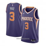 Camiseta Phoenix Suns Chris Paul #3 Icon 2020-21 Violeta