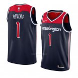 Camiseta Washington Wizards Austin Rivers #1 Statement 2018 Negro2