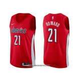 Camiseta Washington Wizards Dwight Howard #21 Earned Rojo