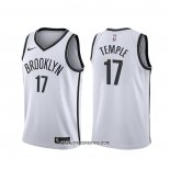 Camiseta Brooklyn Nets Garrett Temple #17 Association Blanco