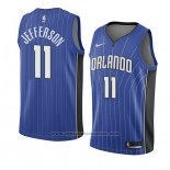Camiseta Orlando Magic Amile Jefferson #11 Icon 2018 Azul