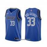 Camiseta Dallas Mavericks Michael Kidd-Gilchrist #33 Icon Azul