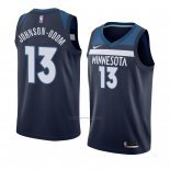 Camiseta Minnesota Timberwolves Darius Johnson-odom #13 Icon 2018 Azul