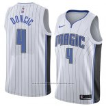 Camiseta Orlando Magic Mohamed Doncic #4 Association 2018 Blanco