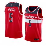 Camiseta Washington Wizards Bobby Portis #5 Icon 2018 Rojo