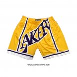 Pantalone Los Angeles Lakers Mitchell & Ness Big Face Amarillo